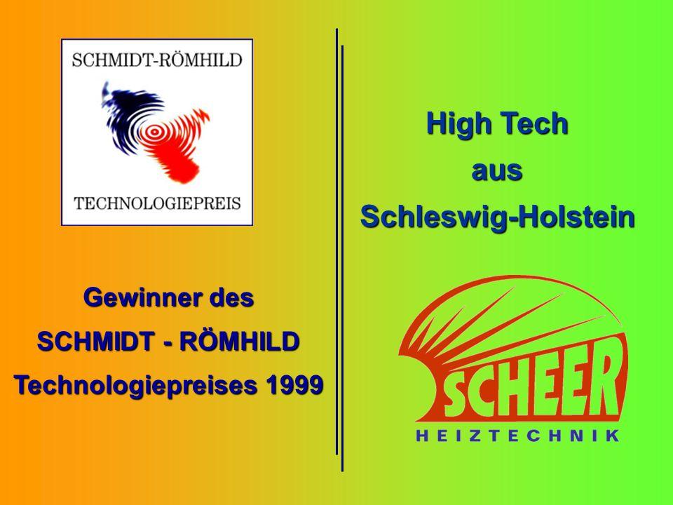 Gewinner des SCHMIDT - RÖMHILD Technologiepreises 1999 High Tech ausSchleswig-Holstein