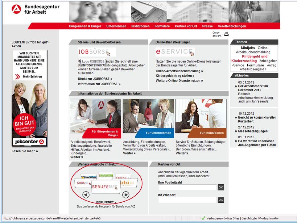 Seite 21 Thema, 0. Monat 2008, © Bundesagentur für Arbeit