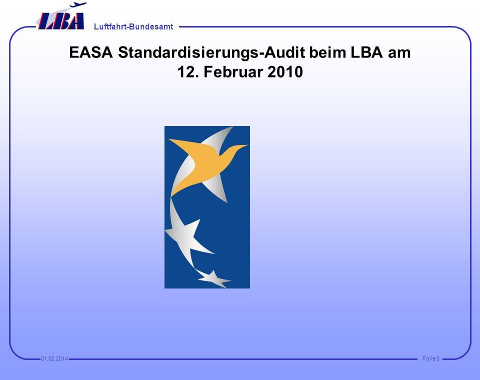 Luftfahrt-Bundesamt Folie 201.02.2014 Aber per se sind Wartungshandbücher keine approved data