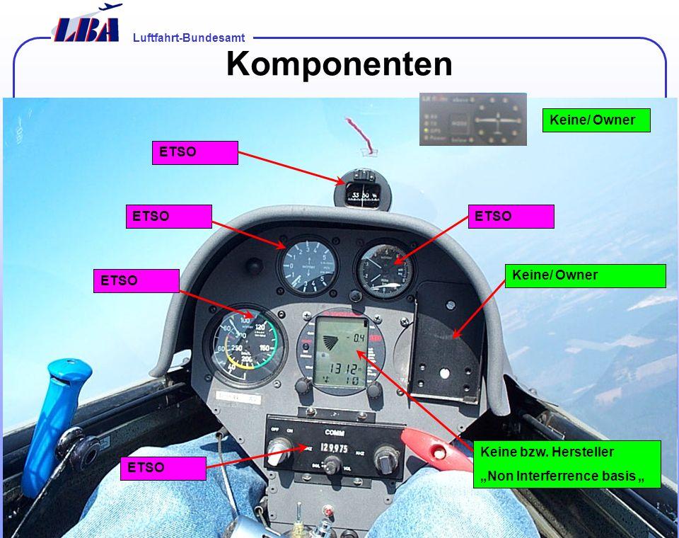 Luftfahrt-Bundesamt Folie 801.02.2014 Komponenten ETSO Keine bzw.