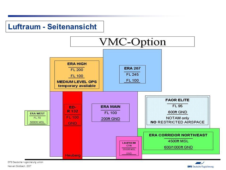 DFS Deutsche Flugsicherung GmbH Herwart Goldbach, 2007 Luftraum - Seitenansicht