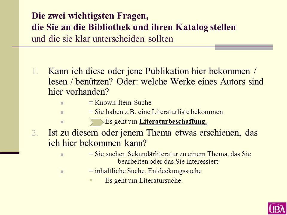 Homepage der Universitätsbibliothek Romanistik-Seite unter dem Menüpunkt Informationen zu einzelnen Fächern