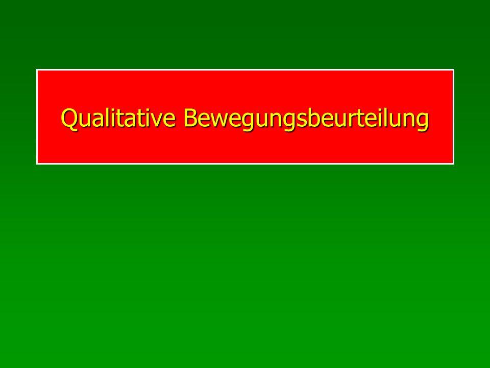 Qualitative Bewegungsbeurteilung