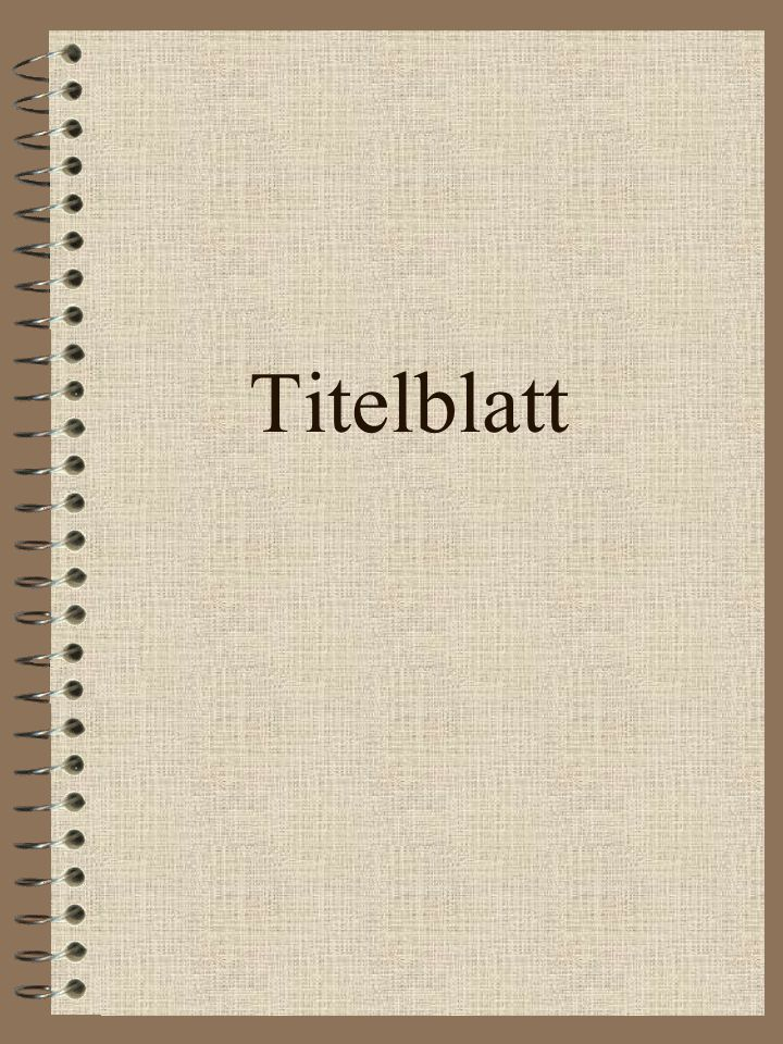 Abschnitte Titelblatt Inhaltsverzeichnis 1. Monografien 2. Beiträge in Sammelwerken 3. Zeitschriftenartikel 4. Sonstiges