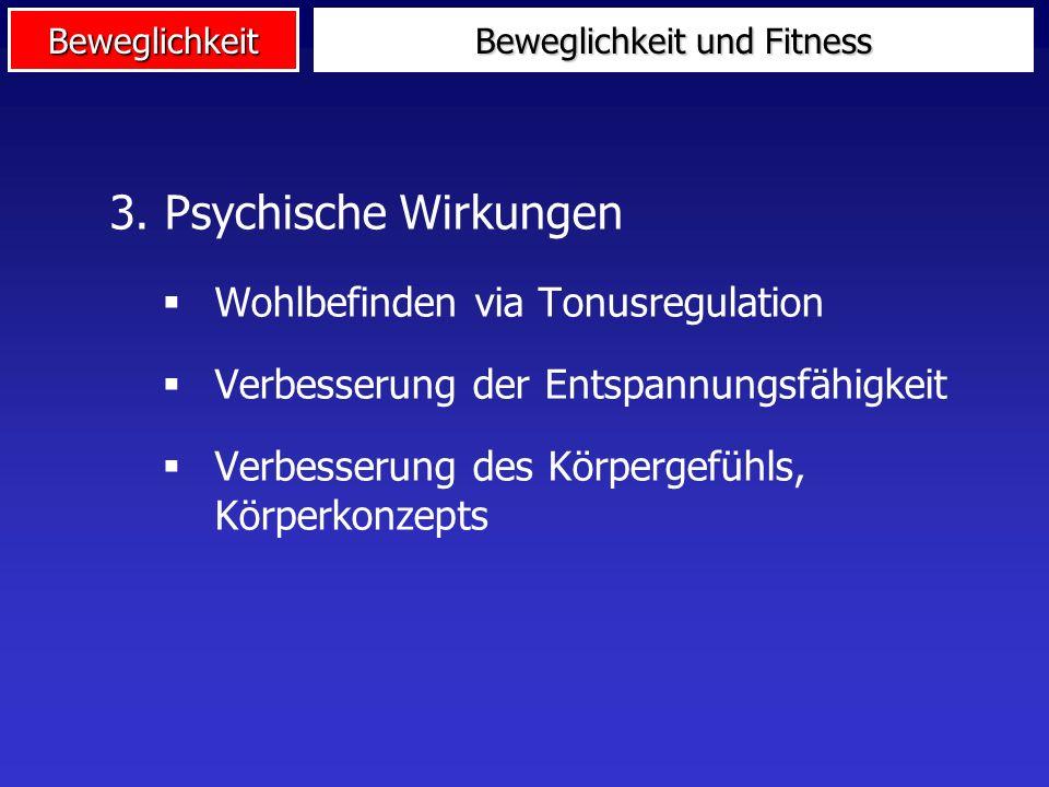 Beweglichkeit 2. Präventive Wirkungen Aufwärmen Muskuläre Dysbalancen Ursache: Einseitige Belastungen Therapieformel: Dehne die verkürzte, kräftige di
