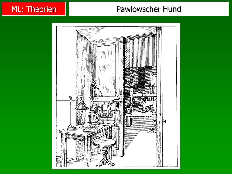 ML: Theorien Pawlowscher Hund
