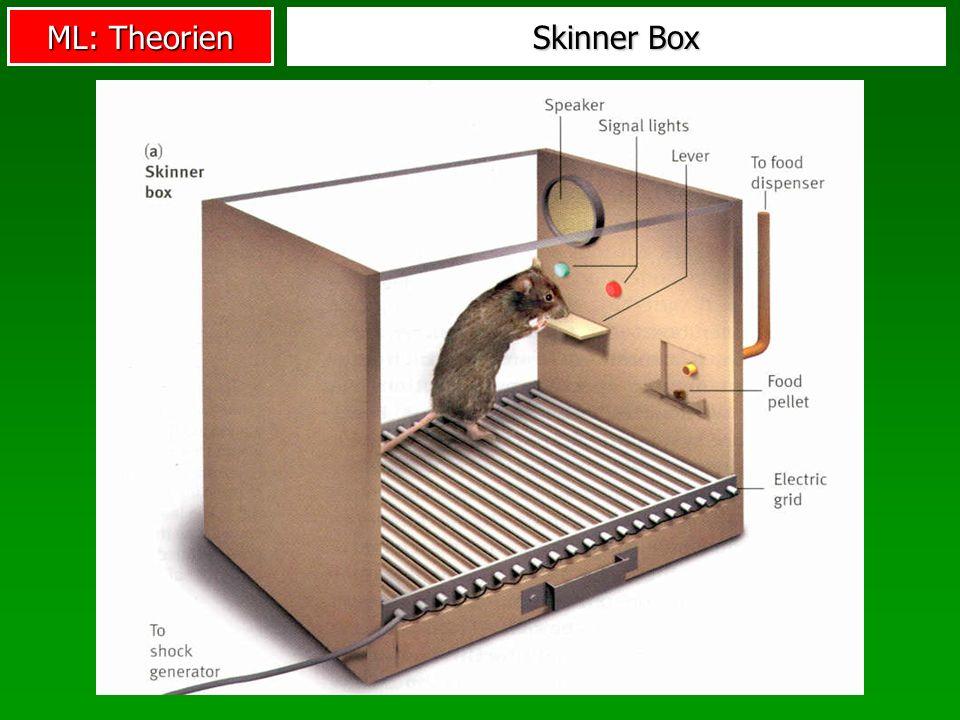 ML: Theorien Skinner Box