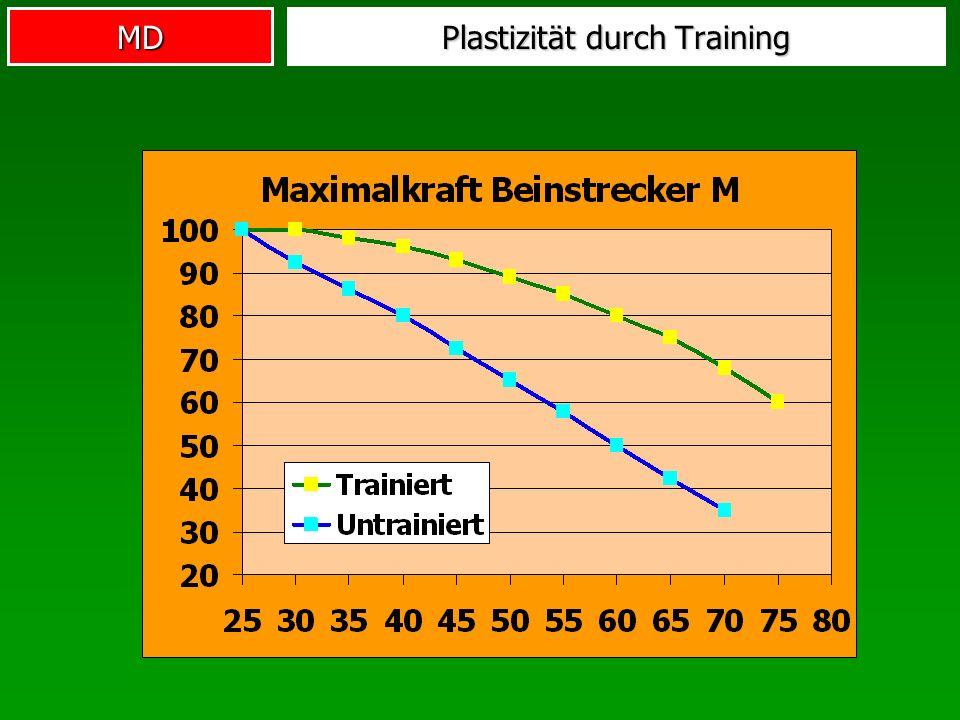 MD Plastizität durch Training