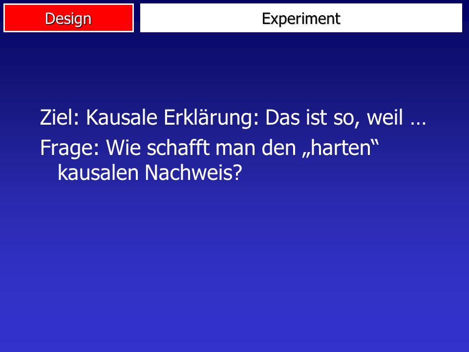 Design Experiment