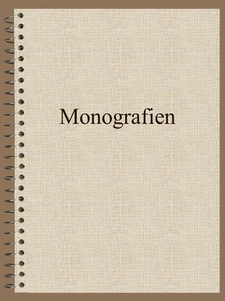 Inhaltsverzeichnis.....................2 1. Monografien.........................3 2. Beiträge in Sammelbänden..4 3. Artikel in Zeitschrifen..........5