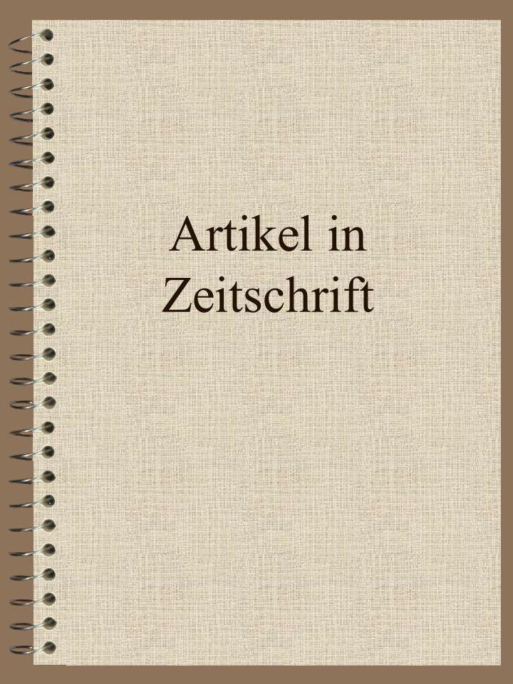 Literaturverzeichnis Beitrag in Sammelband Name, V. (Jahr). Titel. In V. Herausgebername (Hrsg.), Titel des Sammelbandes (S. von-bis). Ort: Verlag. He