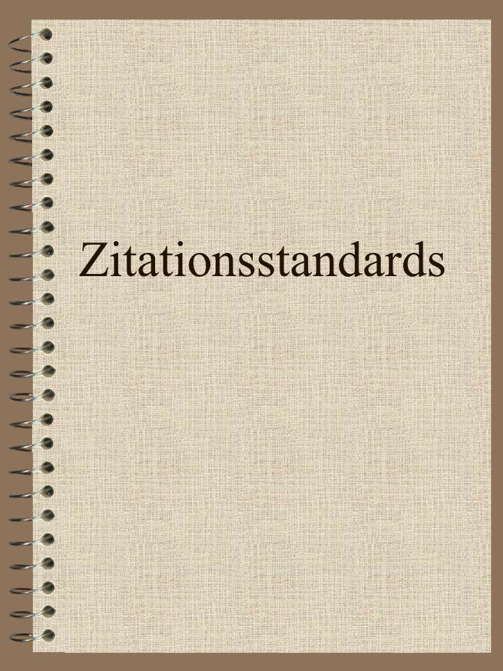 Hausaufgabe 3 Schriftliche Arbeiten & Zitationsstandard Einführung in die Sportwissenschaft