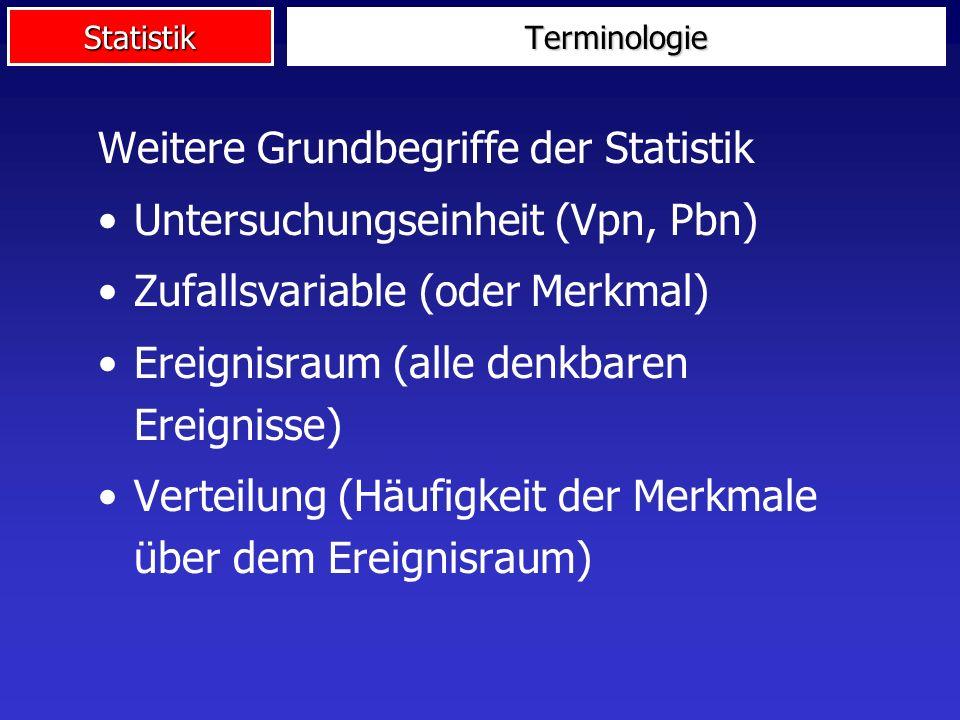 Statistik Diskrete Verteilungen