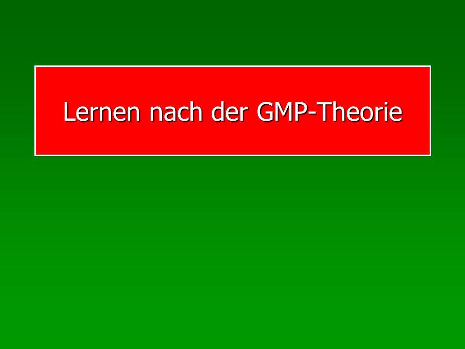Lernen nach der GMP-Theorie
