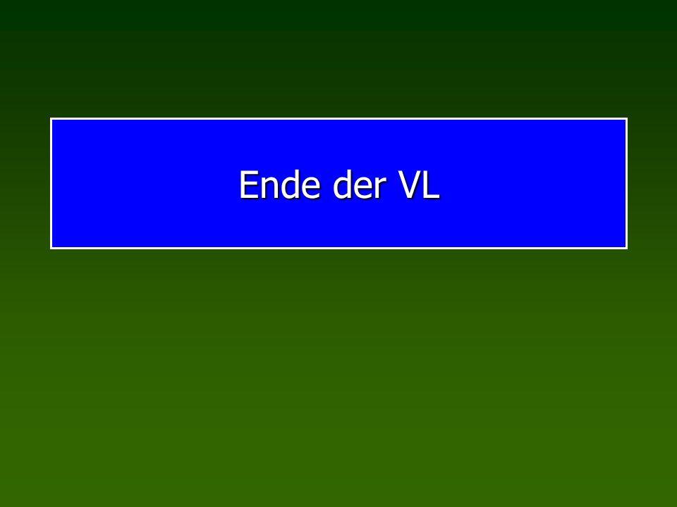 Ende der VL