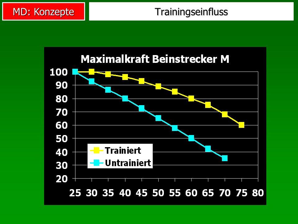 MD: Konzepte Trainingseinfluss