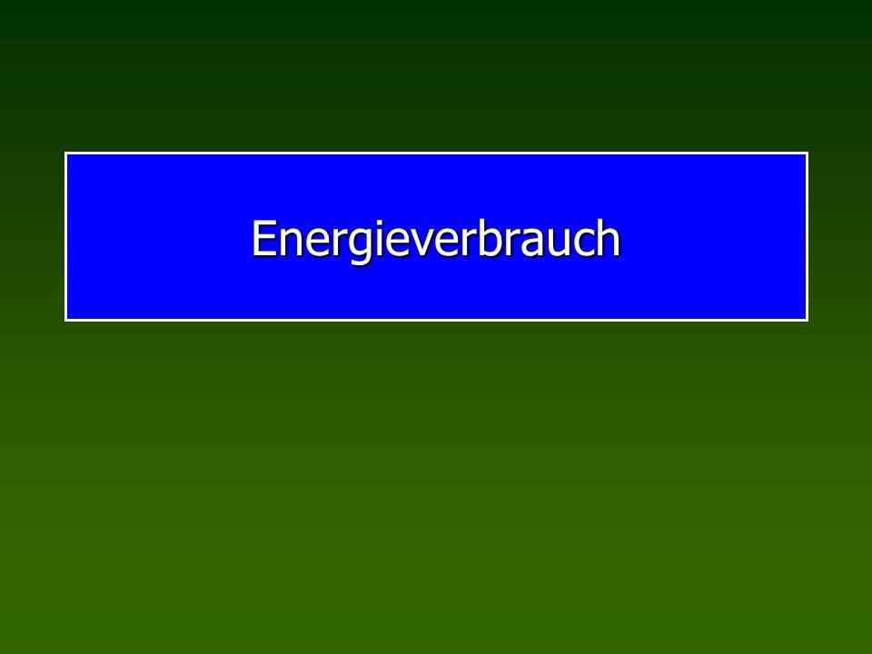 Energieverbrauch