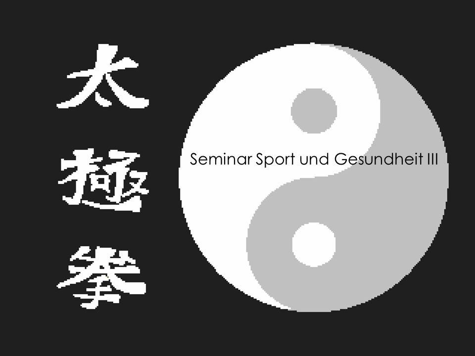 Folie 1 02.02.2014 S u G III Seminar Sport und Gesundheit III