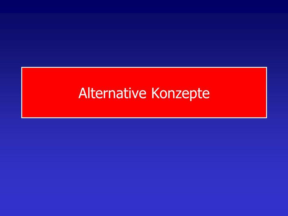 Alternative Konzepte