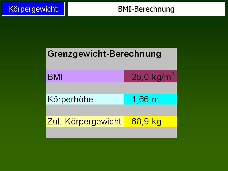 Körpergewicht BMI für Erwachsene Robert-Koch-Institut, 2002
