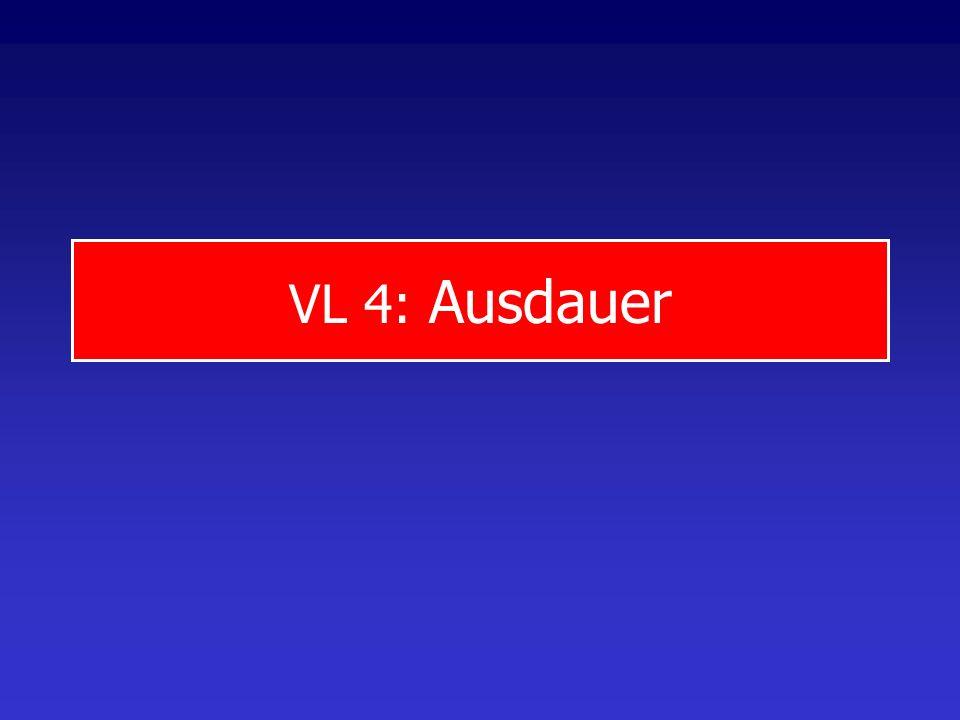 VL 4: Ausdauer