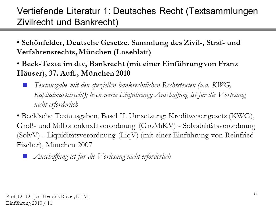 107 Prof.Dr. Dr. Jan-Hendrik Röver, LL.M.