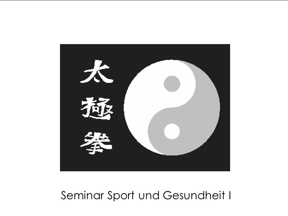 Seminar Sport und Gesundheit I