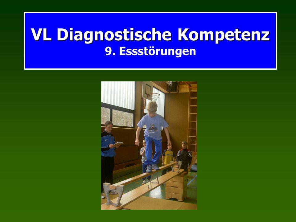 VL Diagnostische Kompetenz VL Diagnostische Kompetenz 9. Essstörungen