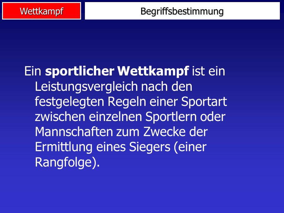 Wettkampf Nicht-Linearitäten im Wettkampfs Leistungsfähigkeit Leistung Erfolg 2.