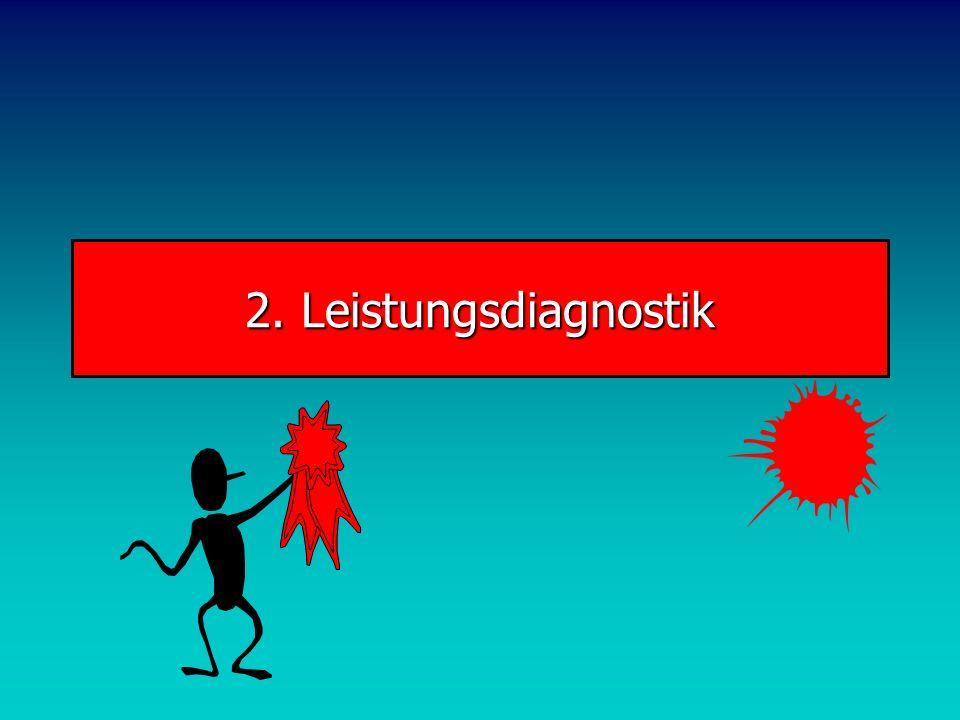 2. Leistungsdiagnostik