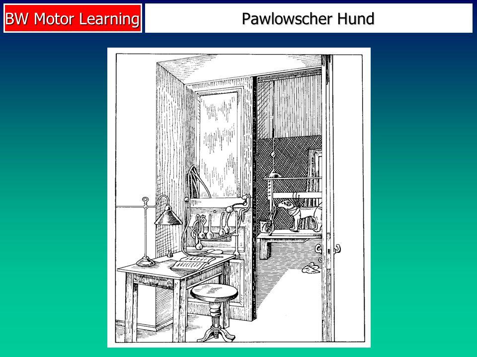 BW Motor Learning Pawlowscher Hund