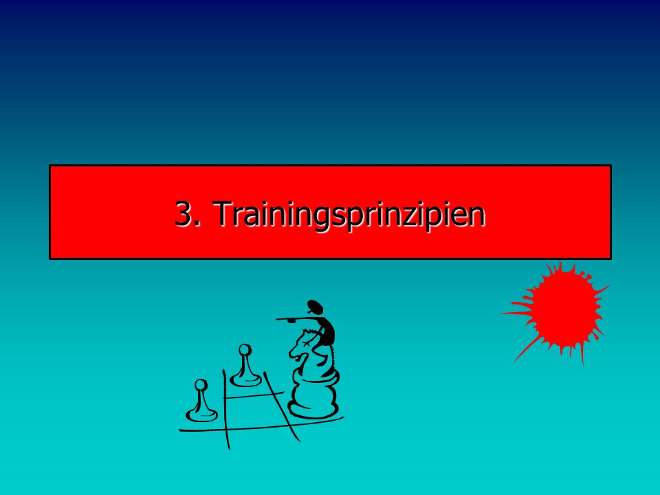 3. Trainingsprinzipien