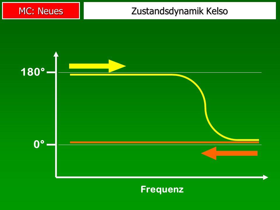 MC: Neues Frequenz 0° 180° Zustandsdynamik Kelso
