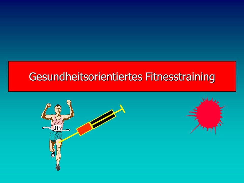 Gesundheitsorientiertes Fitnesstraining