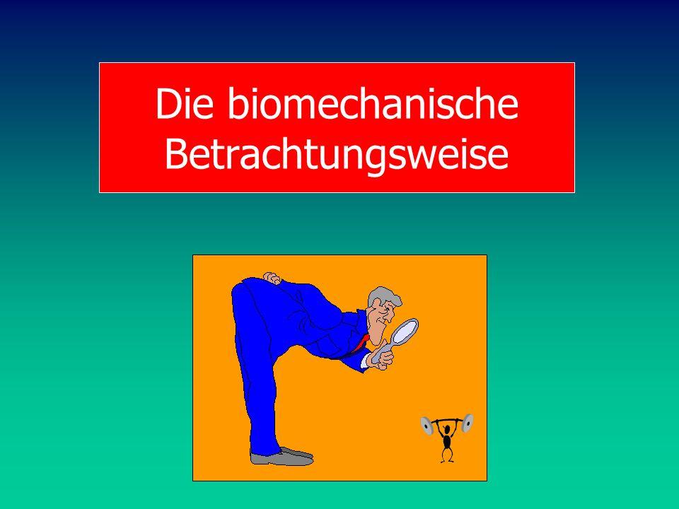 Die biomechanische Betrachtungsweise