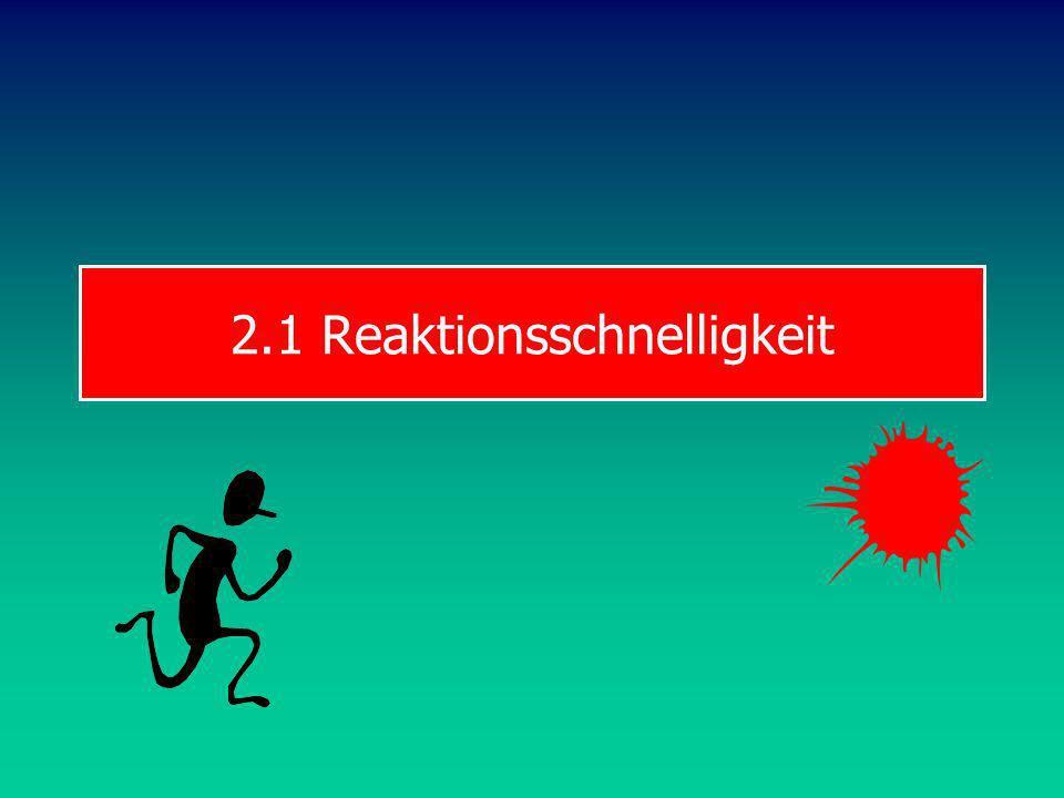 TRW S & B SCHNELLIGKEIT Reaktions- schnelligkeit Aktions- schnelligkeit azyklischzyklisch Struktur der Schnelligkeit