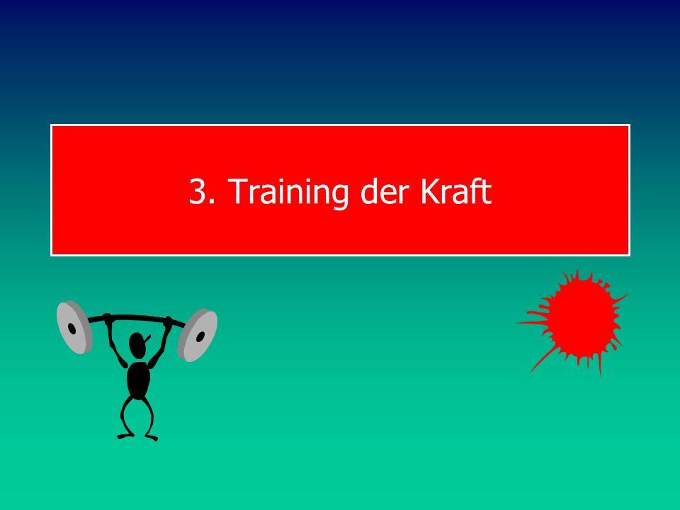 3. Training der Kraft