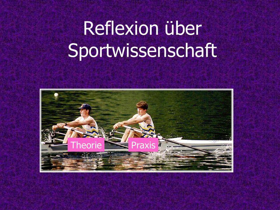 Reflexion über Sportwissenschaft TheoriePraxis