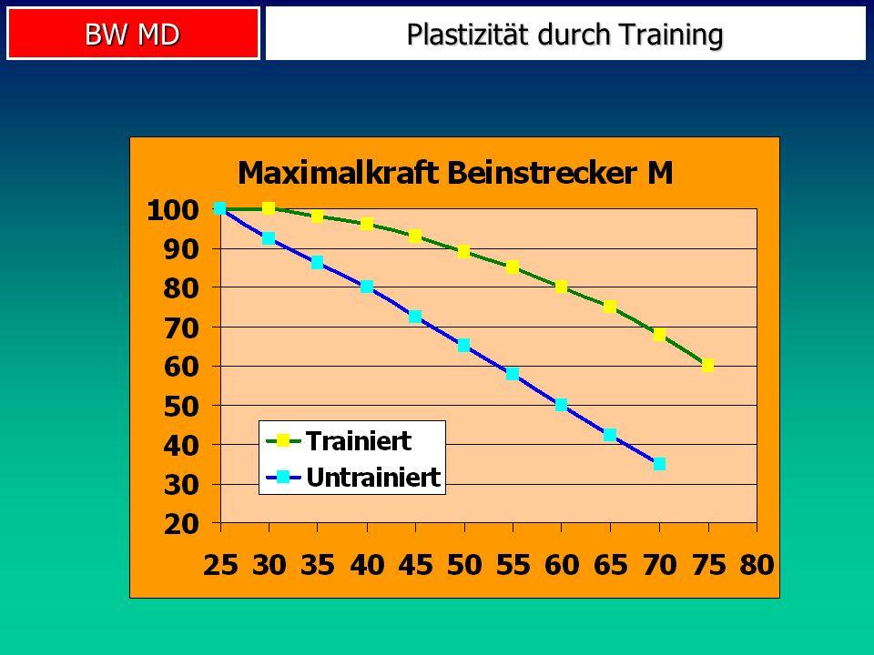BW MD Plastizität durch Training