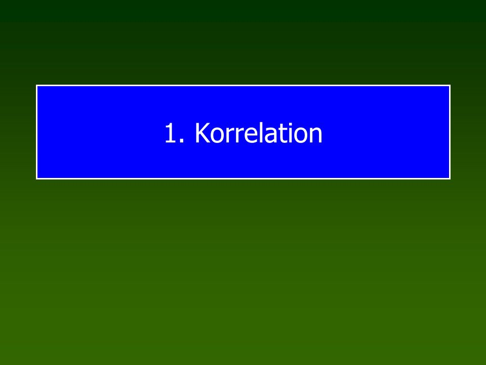 Gütekriterien 1.Korrelation Definition Illustration und Bedeutung Fehler und Fallen 2.Gütekriterien Objektivität Reliabilität Validität Programm