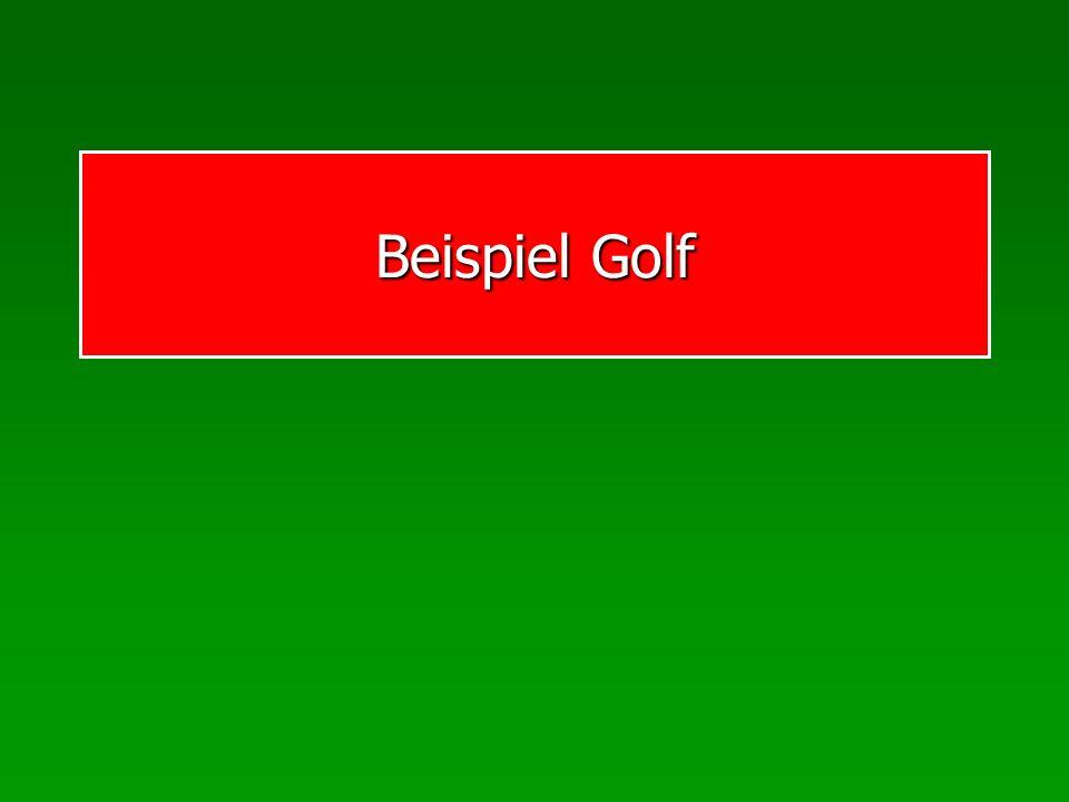 Beispiel Golf