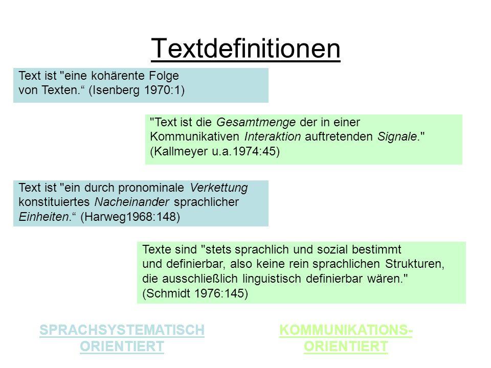 Textdefinitionen