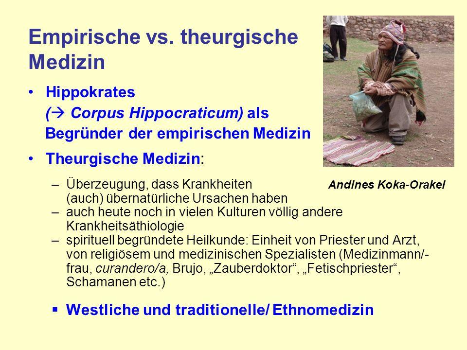 Empirische vs.