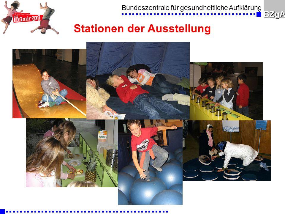 Bundeszentrale für gesundheitliche AufklärungBZgA Stationen der Ausstellung