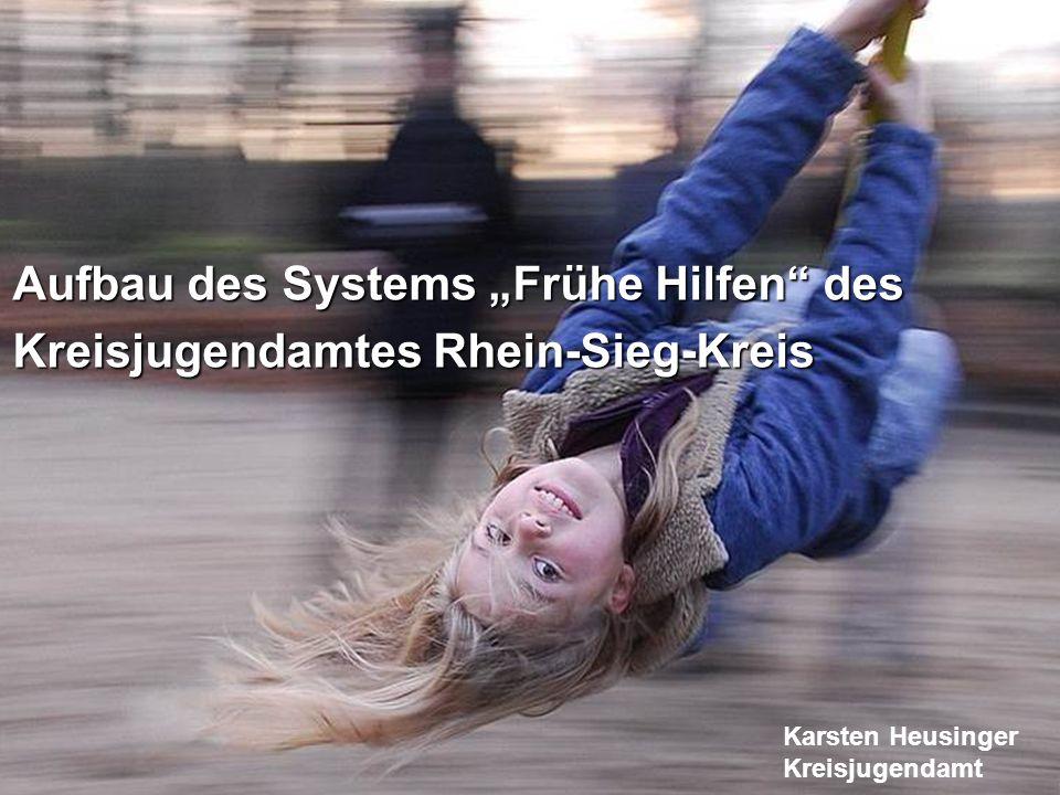 1 Aufbau des Systems Frühe Hilfen des Kreisjugendamtes Rhein-Sieg-Kreis Karsten Heusinger Kreisjugendamt