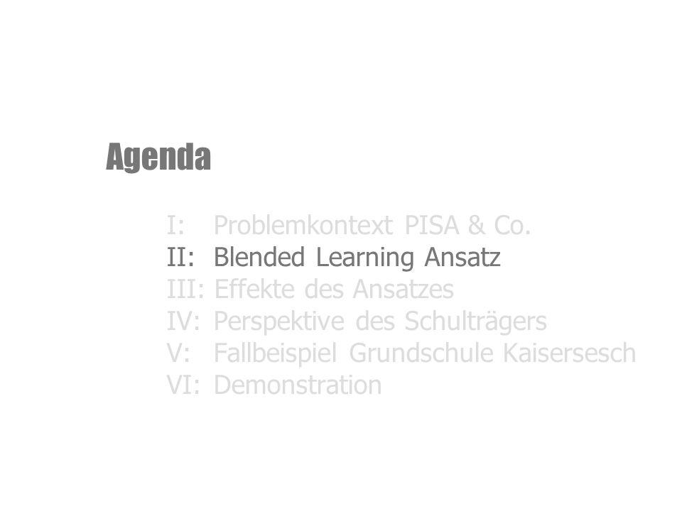 Agenda I:Problemkontext PISA & Co.