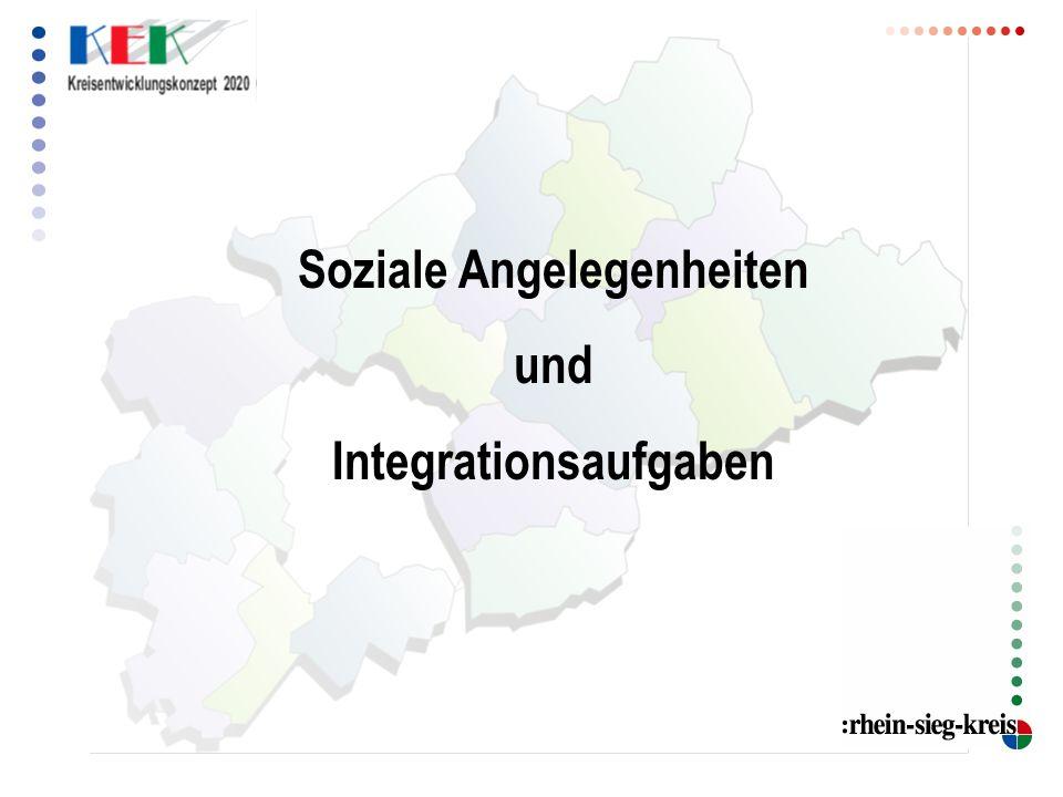 Soziale Angelegenheiten und Integrationsaufgaben