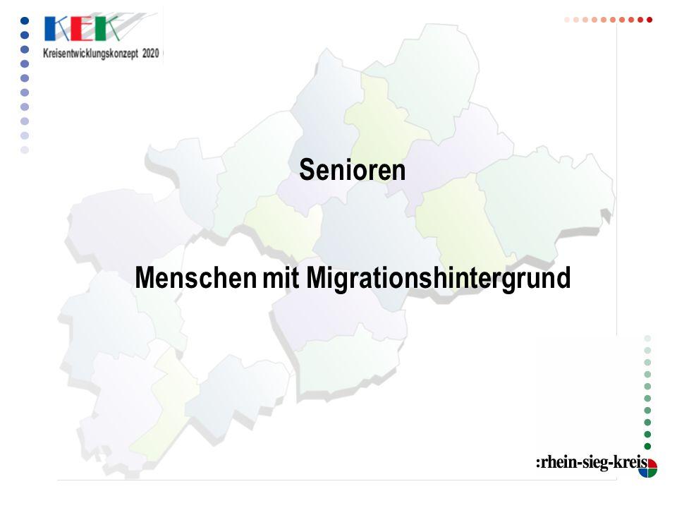 Senioren Menschen mit Migrationshintergrund