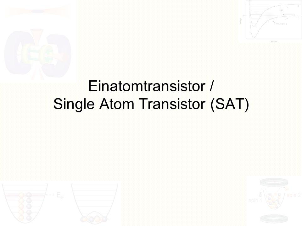 Übersicht Entwicklungsgeschichte des Transistors Grundlagen eines Quantencomputers Grundlagen eines SAT Entwicklung und Funktion des SAT