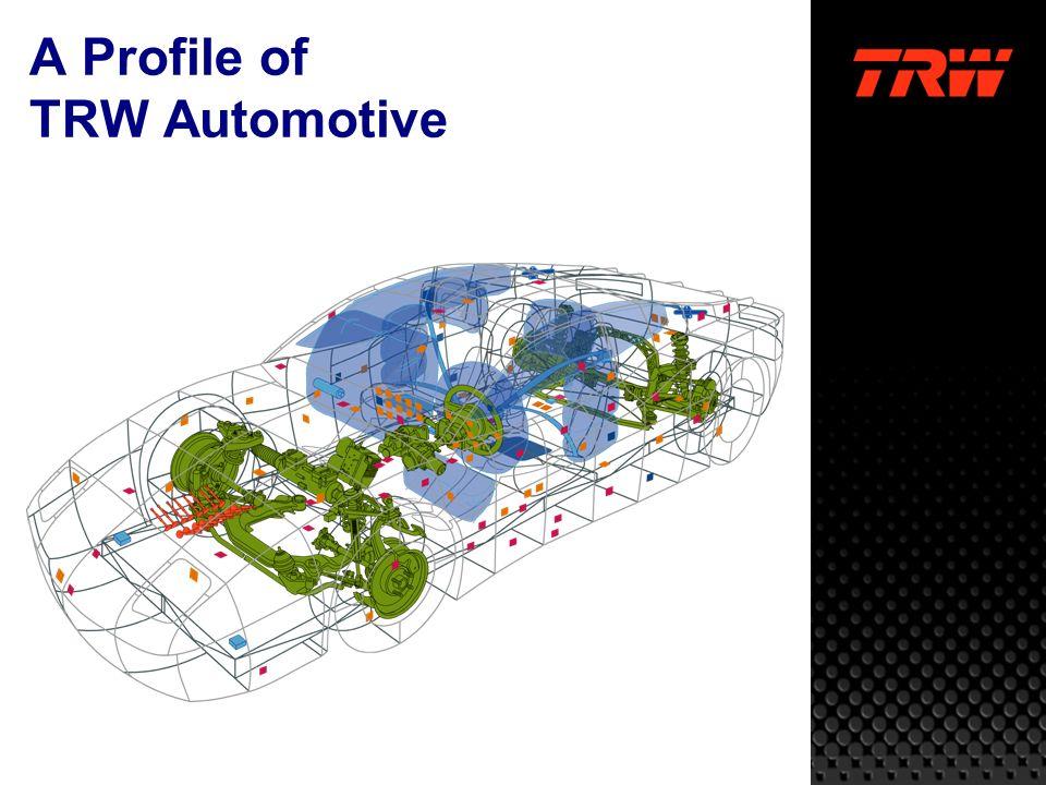 © TRW Automotive Inc. 2003 4 22,500 32,200 3,800 61,000 Employees worldwide TRW Automotive 2,600